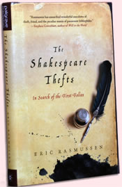 Photo of the book, The Shakespeare Thefts