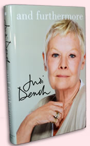 Jacket cover of Judi Dench's And Furthermore